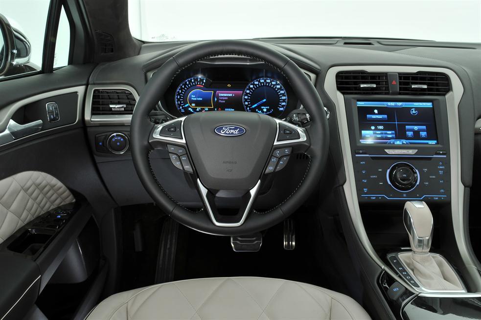 2015 ford mondeo vignale concept interior